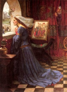 Fair Rosamund by J.W. Waterhouse, 1905