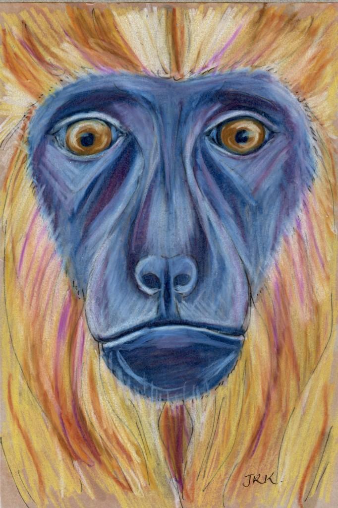 World Cup: Paraguay's Black-and-Gold Howler Monkey (Alouatta caraya)