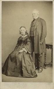 portrait of Maria Emma Gray and John Edward Gray from 1863